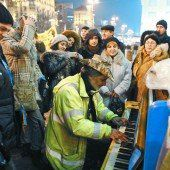 Harmonische Klänge bei den Protesten in der Ukraine