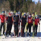 Vorarlbergs Triathleten auf Langlaufskiern