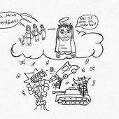 Karikatur. Von Jeanine Jenny (19)