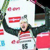 Skijäger wollen aufs Podest