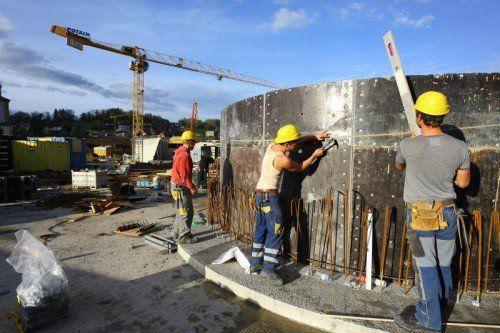 Die heimische Bauwirtschaft erwartet heuer Rückgänge in allen Bereichen. Foto: VN/Hofmeister
