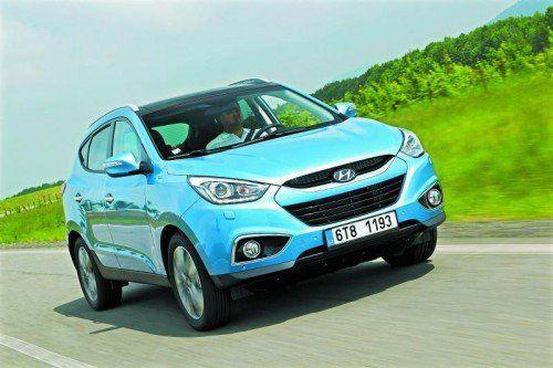 Hyundai ix35: Der erfolgreiche Südkoreaner kann nun auch mit Anhängerstabilisierung punkten.