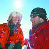 Rennen zum Südpol mit Prinz Harry abgebrochen