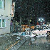 Autounfall in Langenegg fordert zwei Todesopfer