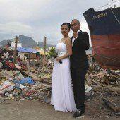 Für Hochzeit zurück nach Tacloban