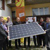 Aktion: 130 Photovoltaik-Anlagen gebaut