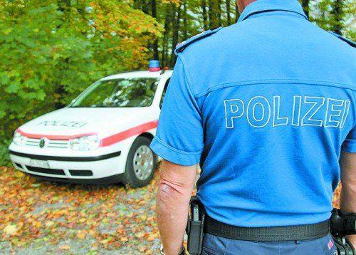 Kantonspolizei fahndet nach unbekanntem Täter. Foto: Kapo St. Gallen