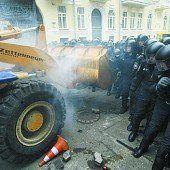 Demos gegen Janukowitsch