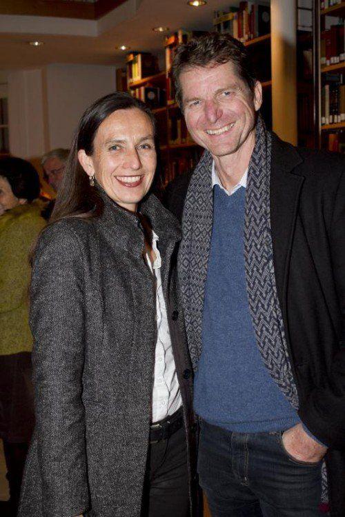 Maria Lässer und Thomas Bischof. Fotos: franc