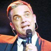 Robbie Williams singt in Ischgl
