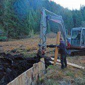 Vorreiterprojekt: Götzner Moos wurde renaturiert