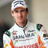 Adrian Sutil ein Sauber-Pilot