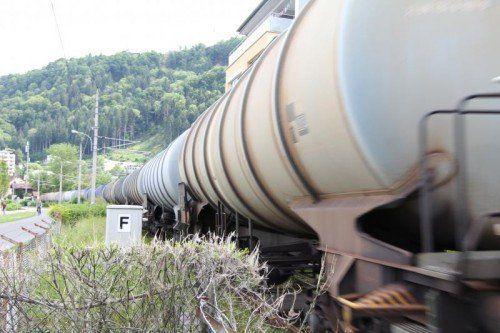 Ein Ausbau der Bahn nützt nicht nur Bregenz.  Foto: Vonbank