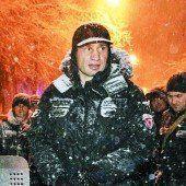 Polizisten vertrieben Klitschkos Anhänger