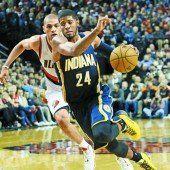 Indiana Pacers mit der zweiten Niederlage