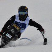Bonadimann im Slalom Zweiter