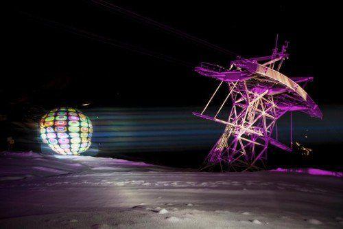 Pressebilder des Events Cineastic Gondolas 2012