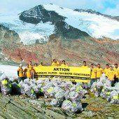 Sie sorgen für saubere Alpen