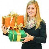 Weihnachten Handel zufrieden mit Geschäft /d1