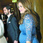 Prinzessin Madeleine zeigt ihren Babybauch