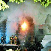 Ein Todesopfer bei Brand in Mittelberg