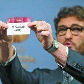 Ajax ist Gegner von Salzburg