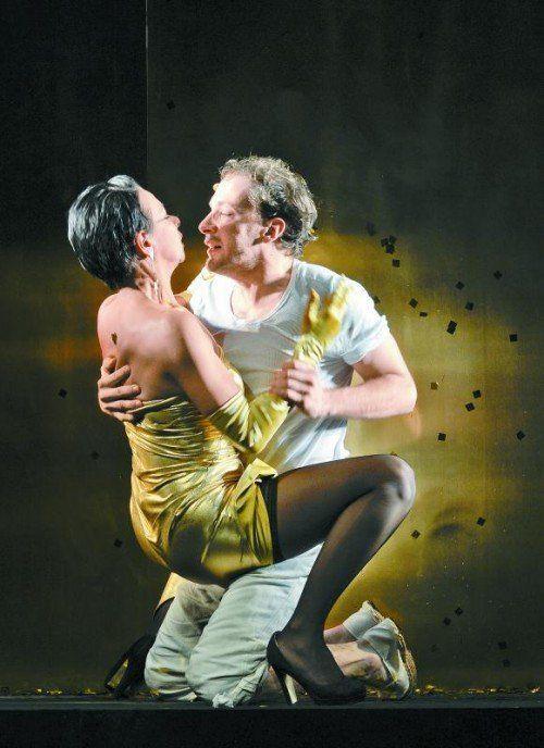 Sandra Cervik und Florian Teichtmeister.  Foto: APA