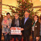 Götzis: Spende von Eurospar für Sozialinitiative