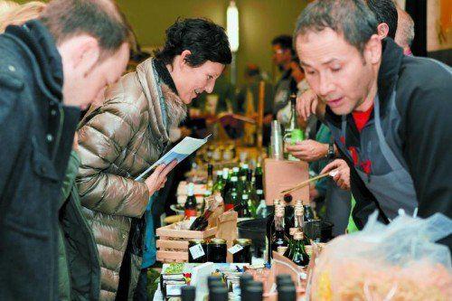 Über 500 Besucher kamen zur Genussmesse nach Lech. Foto: WKV