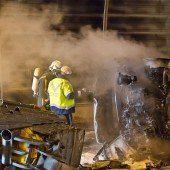 Pkw-Brand in Salzburg forderte einen Toten