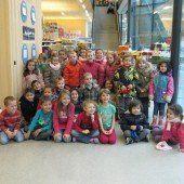 Kindergärten spenden für Kinder in Bulgarien
