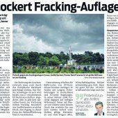 Fracking? Unverantwortbar!