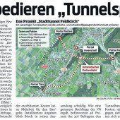 Projekt Stadttunnel Feldkirch