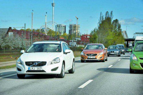Volvo will Vorreiter beim autonomen Fahren werden. Gemeinsam mit der schwedischen Regierung startet Volvo ein Pilotprojekt. Foto: werk
