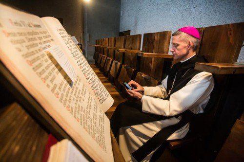 Abt Anselm van der Linde wurde in Vorarlberg als sehr umgänglicher Kirchenmann geschätzt.vn/steurer