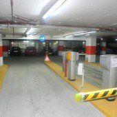 Illpark-Garage: Alle Parkplätze verfügbar