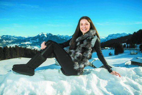Während sich das Bödele noch als weißes Winterwunderland zeigt, lassen die milden Temperaturen den Schnee in den Tälern schmelzen. Heute kann das Thermometer sogar auf bis zu 15 Grad klettern.  Fotos: VN/Paulitsch
