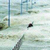 Orkan Xaver wütet im Norden von Europa