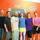 Mikaela Shiffrin machte sich in Feldkirch fit