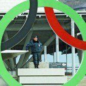 Für das IOC hat Sicherheit Priorität