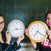 Wo die Uhren ticken wie es die Schüler wünschen