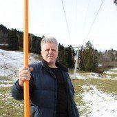 Stillleben im Skigebiet