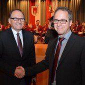 Bürgermeisterwechsel in der Gemeinde Röthis
