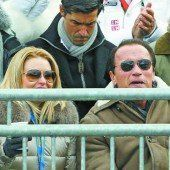 Schwarzenegger hielt in Kitz Hof