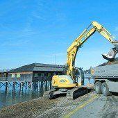 Baustart für den Pipeline-Ausbau