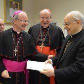 Von einem Besuch auf Augenhöhe beim Papst