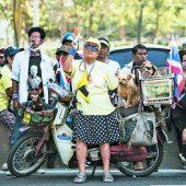 Trotz der Proteste wird in Thailand am Sonntag gewählt