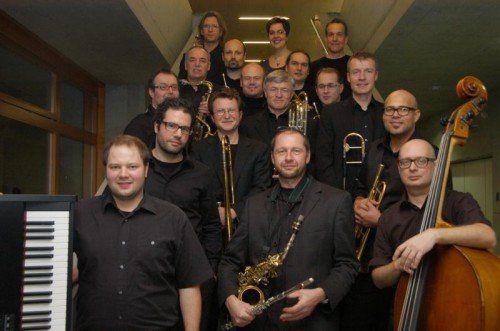 """Das Bodan Art Orchestra geht mit frischen Kompositionen auf Tour und ist am Sonntag im Rahmen des """"Saumarkt Neujahrsjazzfestivals 2014"""" in Feldkirch zu Gast. foto: veranstalter"""