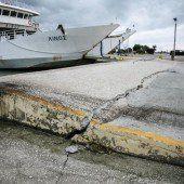 Notstand nach Beben  auf der Insel Kefalonia