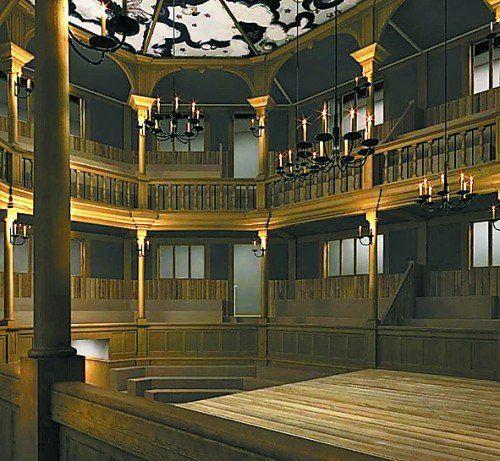 Das Haus entspricht in der Optik Bühnen von damals.  Foto: AP